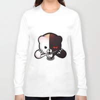 dangan ronpa Long Sleeve T-shirts featuring Danganronpa- Monobear by Ren Flexx