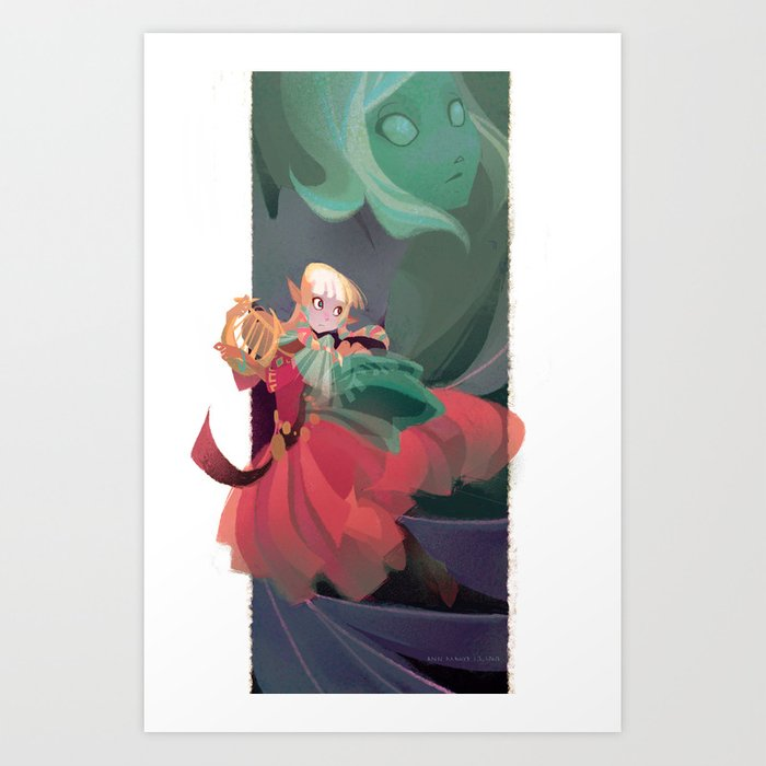 Spirit of the Goddess Art Print
