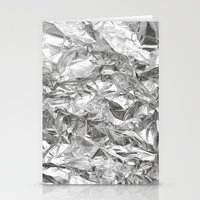 silver Stationery Cards featuring Silver by RK // DESIGN