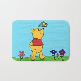 Winnie Butterfly Bath Mat