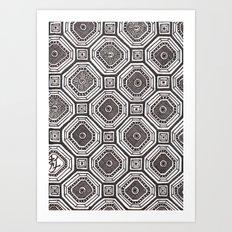 Textile 8 Art Print