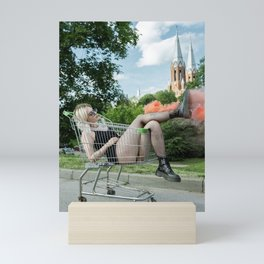 Smokey Feet Mini Art Print