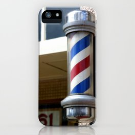 Barber Sign iPhone Case