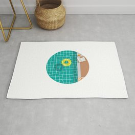 Relax, it's summer! ~ Poolside Rug
