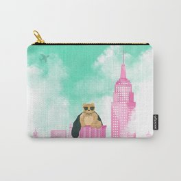 Teddy Bear in New York Carry-All Pouch