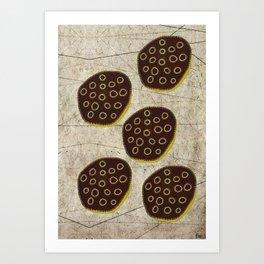 Black Lotus Art Print