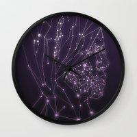 constellation Wall Clocks featuring Constellation by Zak Rutledge