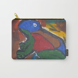 Painted frog Carry-All Pouch