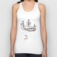 ship Tank Tops featuring SHIP by Jumanaah Hiasat