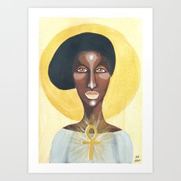 Goddess no 12 Art Print