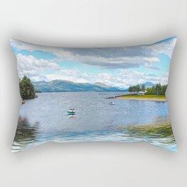 Banks 'o Loch Lomond  Rectangular Pillow