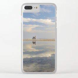"""Heaven walk"". Sea sunset Clear iPhone Case"
