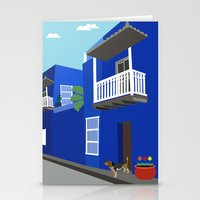 colombia Stationery Cards featuring Colombia  by Design4u Studio
