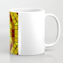 Glass Kaleidoscope Coffee Mug