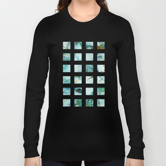 Marble Effect #1 Long Sleeve T-shirt