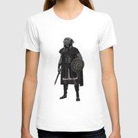 gladiator T-shirts featuring Neapolitan Mastiff Gladiator  by Barruf