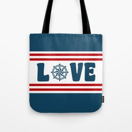 Love compass Tote Bag