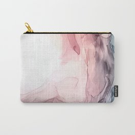 Blush and Blue Dream 1: Original painting Carry-All Pouch