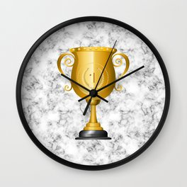 1 Trophy Cup Wall Clock