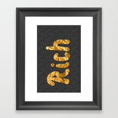 Rich Framed Art Print