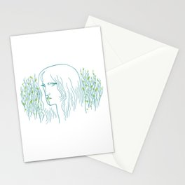 Woods Woman 1 Stationery Cards