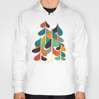 cabin Hoodies featuring Cabin in the woods by Picomodi