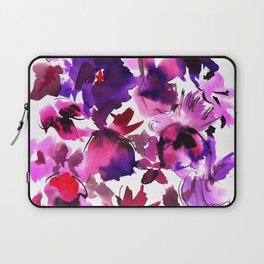 Sara Floral Pink Laptop Sleeve