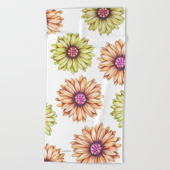 Fun With Daisy- In memory of Mackenzie Beach Towel
