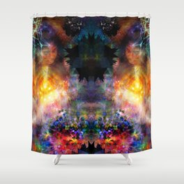 Extra Sensory Perceptions Shower Curtain