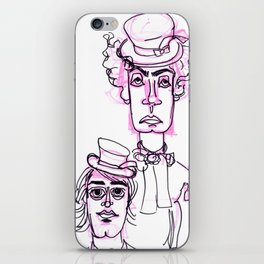 Hatters  iPhone Skin