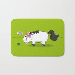 Damn! Bob, the Unlucky Horse! Bath Mat