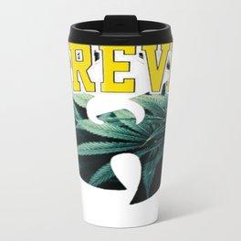 WU FOREVER Metal Travel Mug