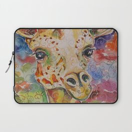 Little Delight Watercolor and Ink by Kit Sunderland Laptop Sleeve