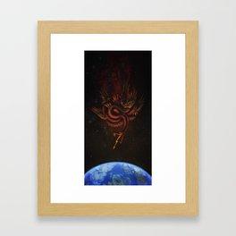 The Conqueror Wyrm Framed Art Print