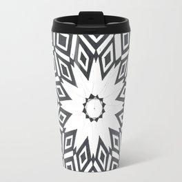 Geometric Marble Travel Mug