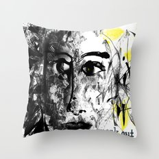 speak out  Throw Pillow