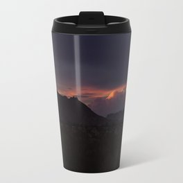 Vibrant Sunset over the Mountains in Terlingua, Big Bend - Landscape Photography Travel Mug