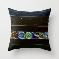 starry night Throw Pillows featuring Starry Starry Night by Lior Blum