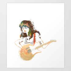 Best Coast Art Print