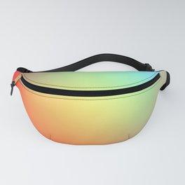 Rainbow Blur Fanny Pack
