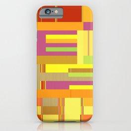 Scandinavian Moon (Fruit Colours) iPhone Case