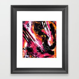 can't make u Framed Art Print
