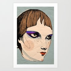 make up Art Print