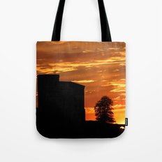 Castle Sunset  - JUSTART © Tote Bag