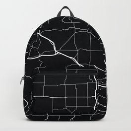 Wisconsin State Road Map Backpack