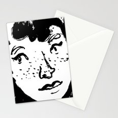 Ink Portrait Stationery Cards