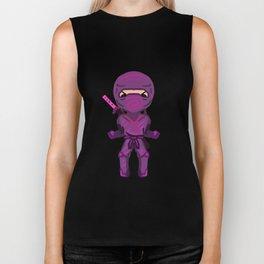 Purple ninja Biker Tank