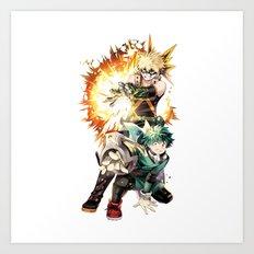Boku No Hero Academia 1 Art Print