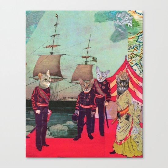 Captain Cosy's Birthday Regatta Canvas Print
