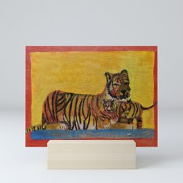 Tigers Mini Art Print